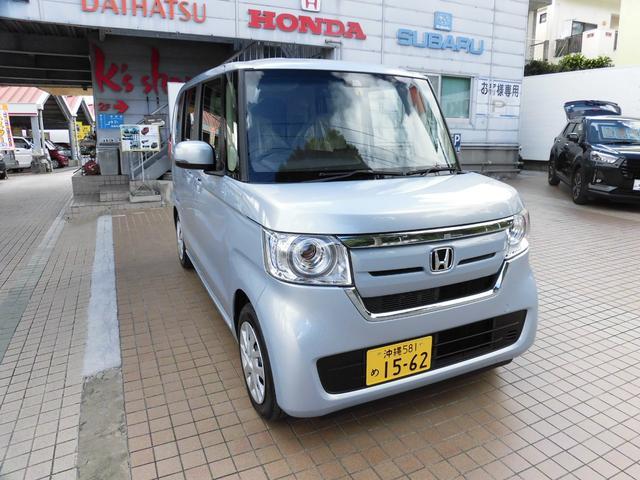 沖縄県の中古車ならN-BOX G・Lホンダセンシング 登録済み車