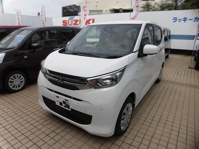 沖縄の中古車 三菱 eKワゴン 車両価格 114万円 リ済込 2020(令和2)年 10km ホワイト