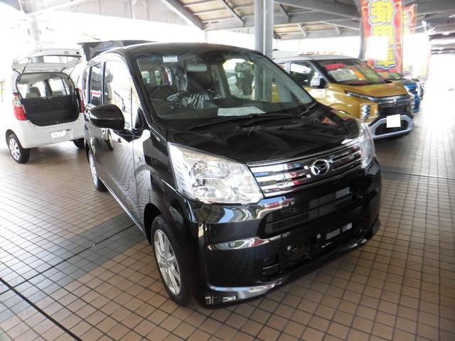 沖縄の中古車 ダイハツ ムーヴ 車両価格 131万円 リ済込 2020(令和2)年 10km ブラックM