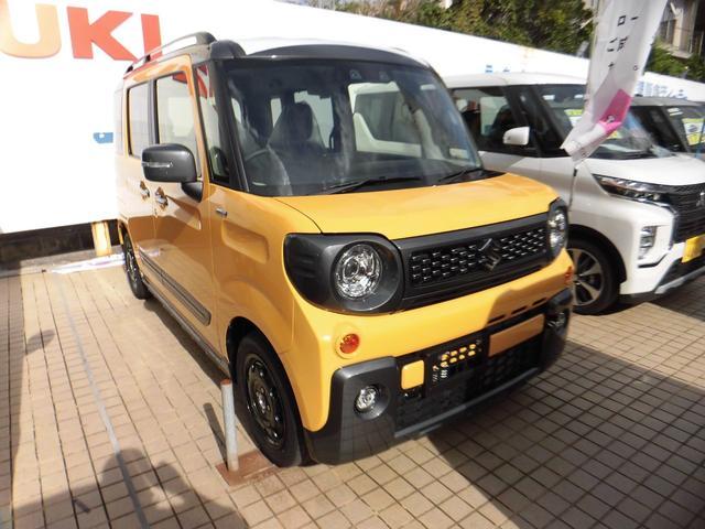 沖縄県の中古車ならスペーシアギア ハイブリッドXZ 新車・展示車