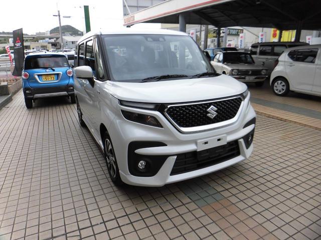 沖縄県の中古車ならソリオバンディット ハイブリッドMV 新車・展示車