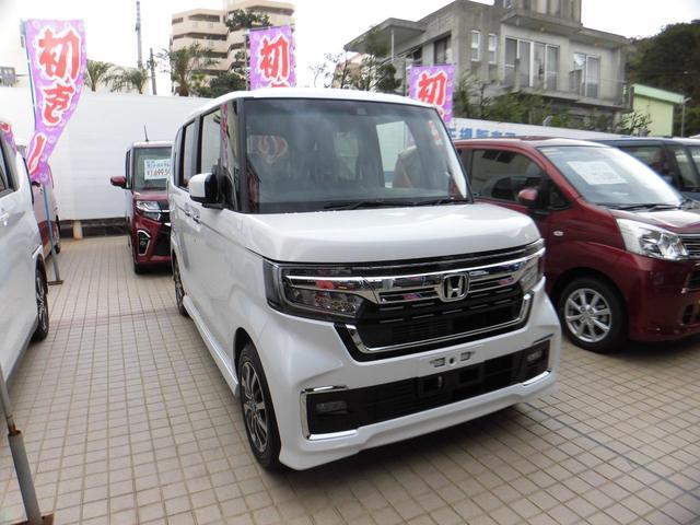 沖縄県の中古車ならN-BOXカスタム L 新車・デモカー