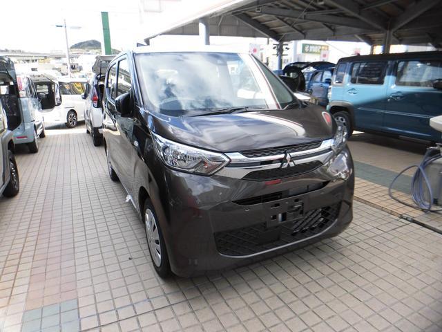 沖縄の中古車 三菱 eKワゴン 車両価格 135.5万円 リ済込 2021(令和3)年 4km オークブラウンメタリック