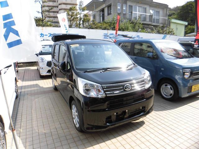 新車。デモカー ムーヴ Xリミテッド2 SA3 お問い合わせはカーステーション那覇店まで (098−889−0403)