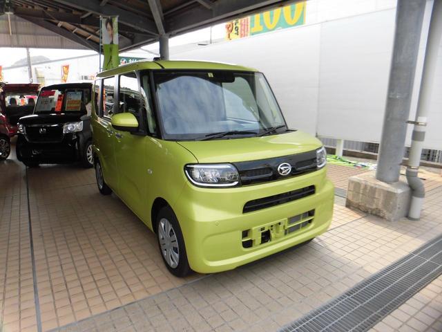 沖縄の中古車 ダイハツ タント 車両価格 140万円 リ済込 2020(令和2)年 0.2万km イエロー