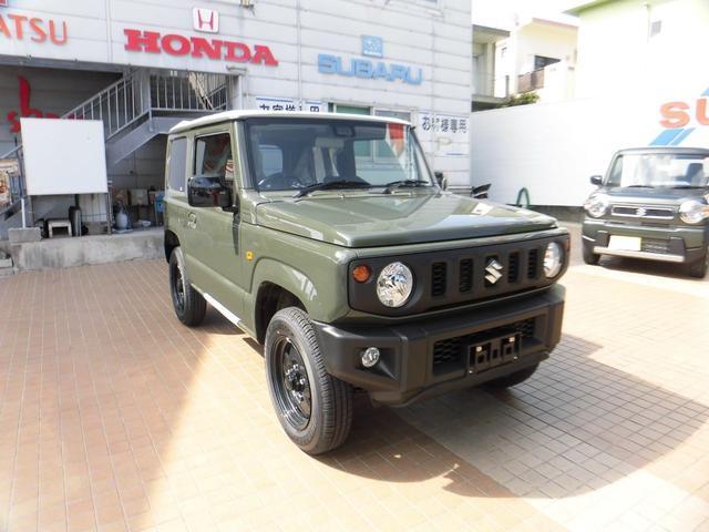 沖縄県の中古車ならジムニー XL 新車・デモカー スズキセーフティーサポート