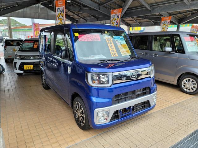 沖縄の中古車 ダイハツ ウェイク 車両価格 113万円 リ済込 2016(平成28)年 7.4万km ブルーM