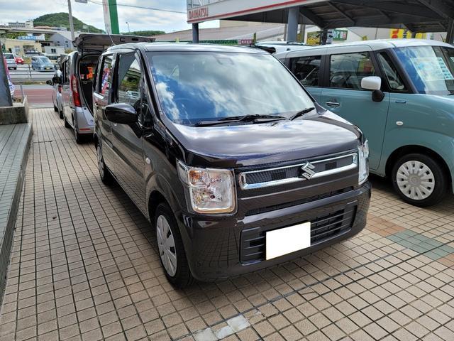 沖縄の中古車 スズキ ワゴンR 車両価格 108万円 リ済込 2020(令和2)年 0.8万km ブラウンM