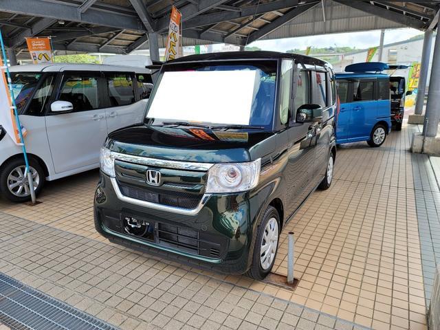 沖縄県の中古車ならN-BOX G・EXホンダセンシング 純正フルセグナビ バックカメラ ETC付
