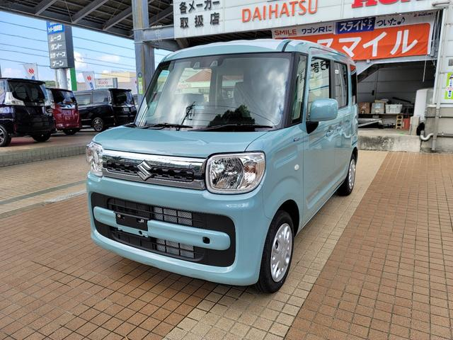 沖縄県の中古車ならスペーシア ハイブリッドX 新車 展示車