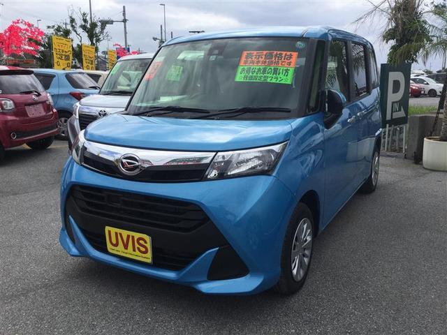 沖縄の中古車 ダイハツ トール 車両価格 151.2万円 リ済別 2017(平成29)年 173km ブルー