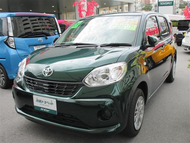 沖縄の中古車 トヨタ パッソ 車両価格 108万円 リ済別 2016(平成28)年 2.5万km グリーン