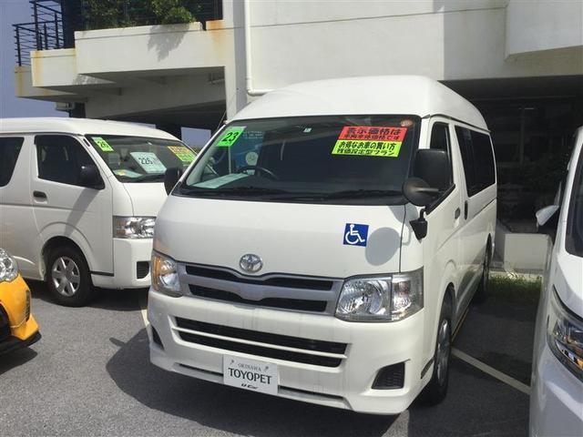 沖縄の中古車 トヨタ ハイエースバン 車両価格 145.8万円 リ済別 2011(平成23)年 8.0万km ホワイト