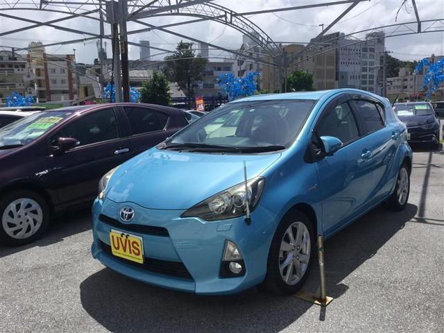 沖縄県の中古車ならアクア G