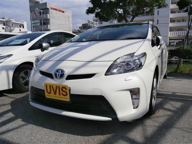 沖縄の中古車 トヨタ プリウス 車両価格 149万円 リ済別 2012(平成24)年 3.5万km パールマイカ