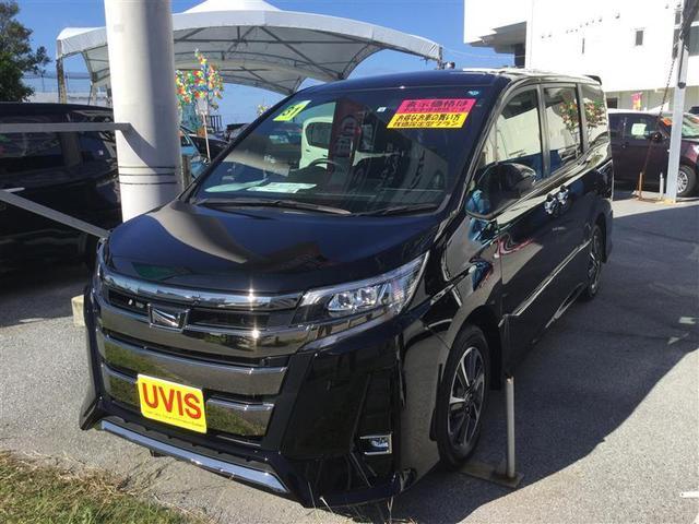 沖縄の中古車 トヨタ ノア 車両価格 268万円 リ済別 2019年 0.7万km ブラック