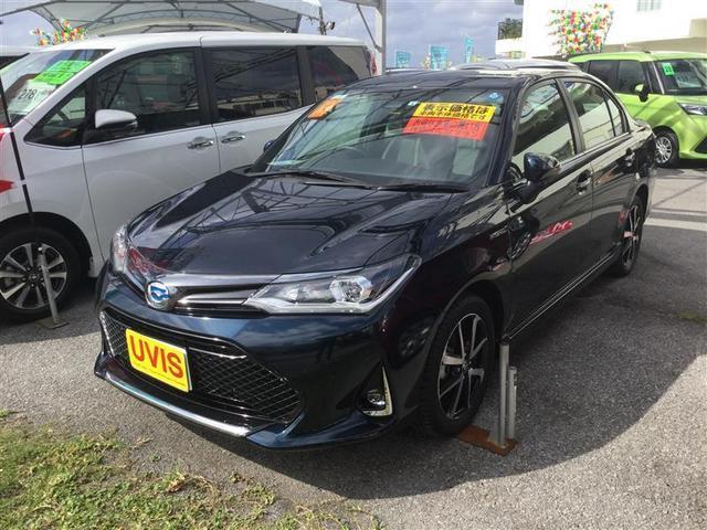 沖縄県の中古車ならカローラアクシオ ハイブリッド WXB
