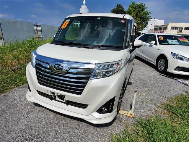 沖縄の中古車 ダイハツ トール 車両価格 187万円 リ済別 2019年 0.6万km パールマイカ