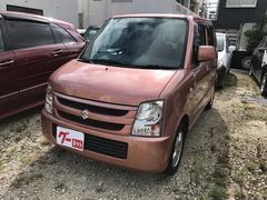 沖縄の中古車 スズキ ワゴンR 車両価格 29万円 リ済込 平成19年 8.5万K ピンクII