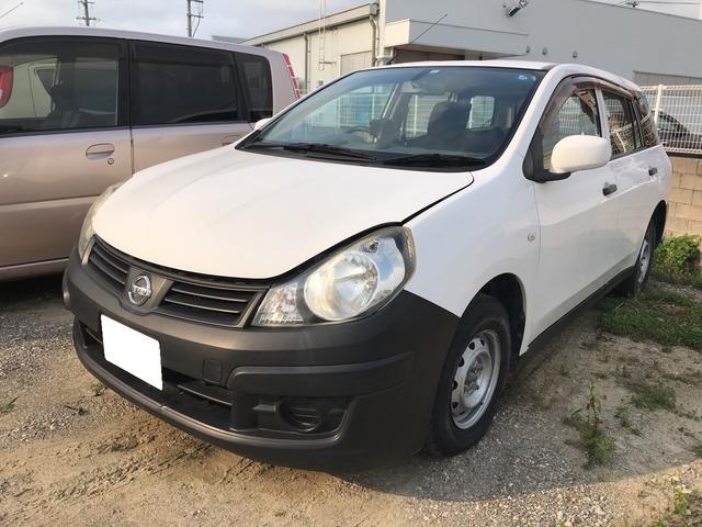 沖縄の中古車 日産 ADエキスパート 車両価格 32万円 リ済込 平成23年 10.1万km ホワイト