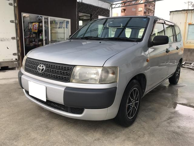 トヨタ プロボックスバン DX 社外アルミ CD