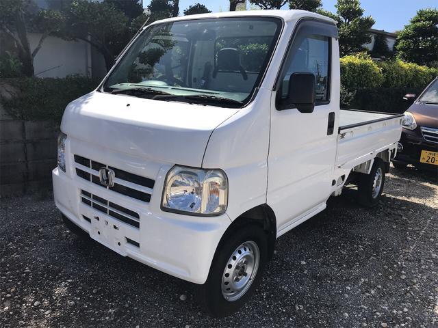 沖縄の中古車 ホンダ アクティトラック 車両価格 41万円 リ済込 2009(平成21)年 10.7万km ホワイト
