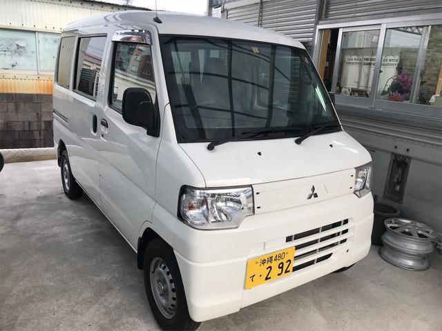 沖縄県の中古車ならミニキャブバン CD AC AT 軽バン TV ナビ 両側スライドドア