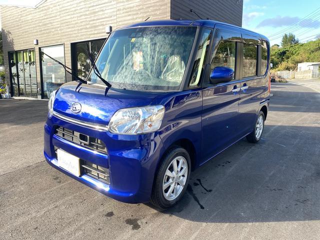 沖縄の中古車 ダイハツ タント 車両価格 105万円 リ済込 2019(平成31)年 1.2万km ブルーM
