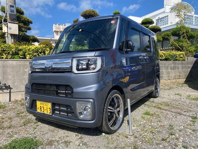 沖縄の中古車 ダイハツ ウェイク 車両価格 150万円 リ済込 2019(令和1)年 1.1万km タングステングレーメタリック
