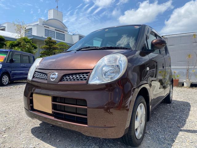 沖縄の中古車 日産 モコ 車両価格 26万円 リ済込 2009(平成21)年 10.5万km ブラウン