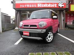沖縄の中古車 スズキ ハスラー 車両価格 89万円 リ済別 平成27年 2.5万K ピンク/ホワイト