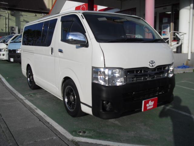 沖縄の中古車 トヨタ レジアスエースバン 車両価格 99万円 リ済別 2007(平成19)年 18.3万km ホワイト