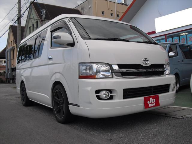 沖縄の中古車 トヨタ ハイエースワゴン 車両価格 163.9万円 リ済別 2010(平成22)年 12.6万km ホワイト