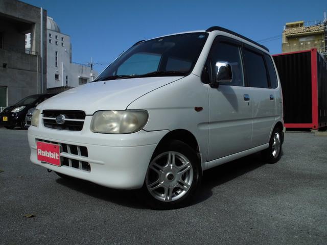 沖縄の中古車 ダイハツ ムーヴ 車両価格 5万円 リ済別 1999(平成11)年 15.2万km ホワイト