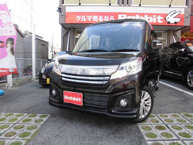 沖縄県の中古車ならスペーシアカスタム GS ブレーキサポート レーンアシスト 距離9000キロ台