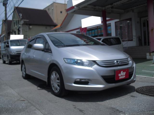 沖縄の中古車 ホンダ インサイト 車両価格 39万円 リ済別 2009(平成21)年 4.7万km シルバーM