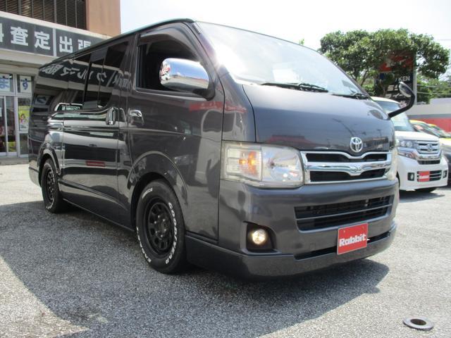 沖縄県の中古車ならレジアスエースバン ロングスーパーGL ナビ TV バックカメラ 社外アルミ テールランプ