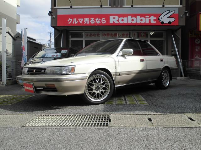 沖縄の中古車 トヨタ カムリ 車両価格 67.8万円 リ済別 1989(平成1)年 9.2万km ライトベージュII