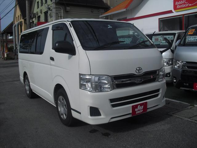 沖縄の中古車 トヨタ ハイエースバン 車両価格 119万円 リ済別 2012(平成24)年 19.5万km ホワイト