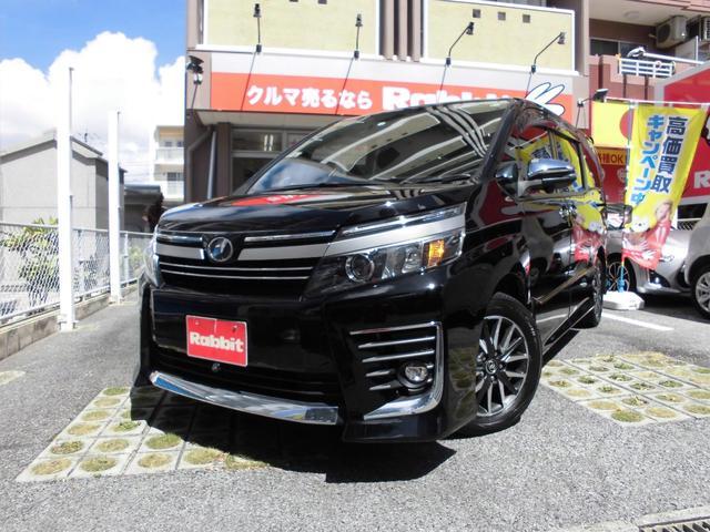 沖縄の中古車 トヨタ ヴォクシー 車両価格 209万円 リ済別 2016(平成28)年 5.1万km ブラック