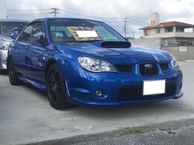沖縄県の中古車ならインプレッサ WRX WRリミテッド2005 STIマフラー 車高調