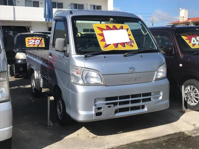 沖縄の中古車 ダイハツ ハイゼットトラック 車両価格 59万円 リ済込 2009(平成21)年 10.2万km シルバー
