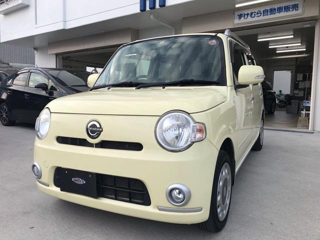 沖縄の中古車 ダイハツ ミラココア 車両価格 43万円 リ済込 2011(平成23)年 12.6万km イエロー