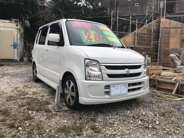 沖縄の中古車 スズキ ワゴンR 車両価格 25万円 リ済込 2008(平成20)年 8.5万km ホワイト