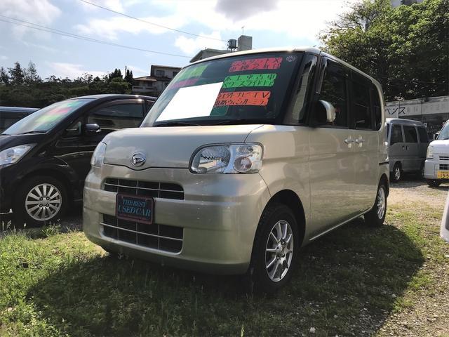 沖縄県南城市の中古車ならタント X WエアB アルミホイール ABS キーフリ ETC 電格ミラー