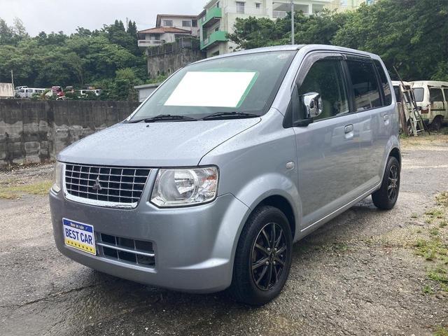 沖縄の中古車 三菱 eKワゴン 車両価格 23万円 リ済込 2010(平成22)年 10.8万km シルバー