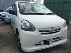 沖縄の中古車 ダイハツ ミライース 車両価格 35万円 リ済込 平成24年 9.0万K ホワイト