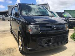 沖縄の中古車 三菱 eKスポーツ 車両価格 35万円 リ済込 平成19年 12.0万K ブラック