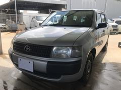 沖縄の中古車 トヨタ プロボックスバン 車両価格 35万円 リ済込 平成14年 15.1万K シルバー