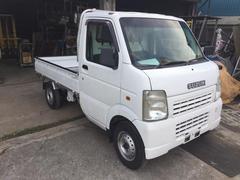 沖縄の中古車 スズキ キャリイトラック 車両価格 25万円 リ済込 平成21年 36.9万K ホワイト